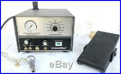 Grs Gravermax And Pedal 1 Handpiece Used And Working Condition Used Grs Tools