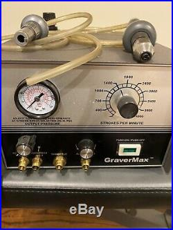 Grs Gravermax And Pedal 2handpiece Used And Working Condition Used Grs Tools