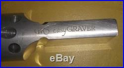 Grs gravermax ingraver with footpedal, 901 QC handpiece, good condition