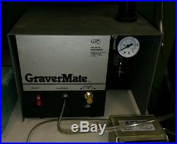 Grs style engraver gravermate handpiece graver foot control works great