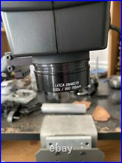 LEICA A60 WITH. 63x OBJECTIVE LENS GRS ENGRAVING TOOLS