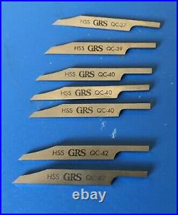 Lot of 17 Various GRS Gravers