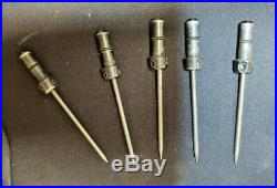Lot of 5 GRS Quick Change PIECES With MOUNTED Beading Tool