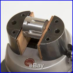 Magnetic Leather Jaw Pads for GRS Engraving Ball Vise fits standard 3 inch jaws