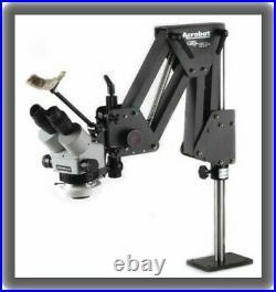 Meiji EMZ-5 Microscope, GRS Acrobat Stand, Techni-Quip TLC-5 Ring Light