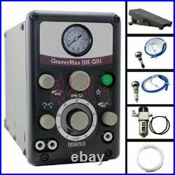 New Type 0-8000 strokes /min GRS Pneumatic Engraving Tools Jewelry Engraving mac