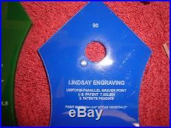 Steve Lindsay Graver sharpener templates SET 3 GRS engraving tools