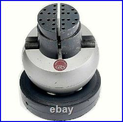 USED GRS Standard Block ENGRAVING BALL Vise USED WORKING CONDITION 22 lbs