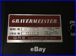 Vintage GRS Gravermeister GF500 -Very Clean